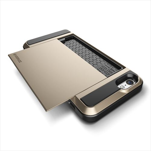 【iPhone6ケース】ICカードホルダー搭載ケースVERUS Damda Slide シャインゴールド iPhone 6_0