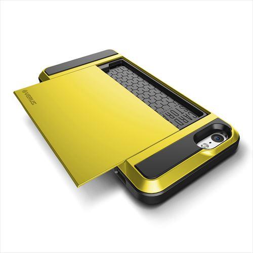 ICカードホルダー搭載ケースVERUS Damda Slide レモン iPhone 6
