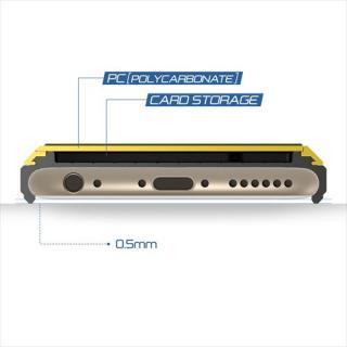 【iPhone6ケース】ICカードホルダー搭載ケースVERUS Damda Slide レモン iPhone 6_3