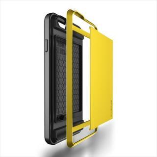 【iPhone6ケース】ICカードホルダー搭載ケースVERUS Damda Slide レモン iPhone 6_5