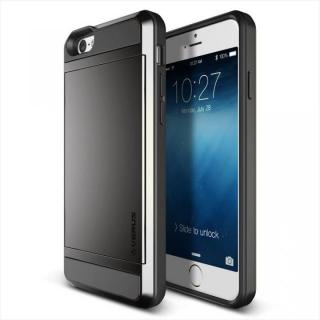 【iPhone6ケース】ICカードホルダー搭載ケースVERUS Damda Slide ダークシルバー iPhone 6_1