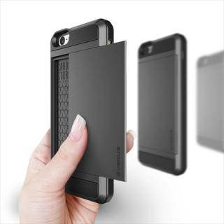 【iPhone6ケース】ICカードホルダー搭載ケースVERUS Damda Slide ダークシルバー iPhone 6_4