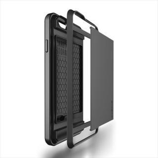 【iPhone6ケース】ICカードホルダー搭載ケースVERUS Damda Slide ダークシルバー iPhone 6_5
