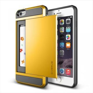 ICカードホルダー搭載ケースVERUS Damda Slide レモン iPhone 6 Plus