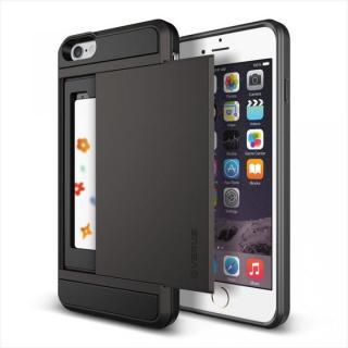 ICカードホルダー搭載ケースVERUS Damda Slide ダークシルバー iPhone 6 Plus