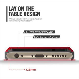 【iPhone6ケース】ICカードホルダー搭載ケースVERUS Damda Slide クリムゾンレッド iPhone 6_3