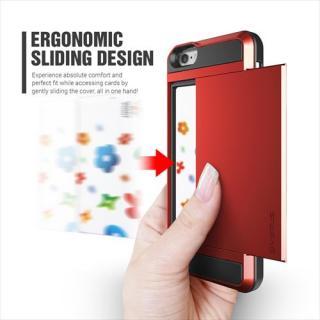 【iPhone6ケース】ICカードホルダー搭載ケースVERUS Damda Slide クリムゾンレッド iPhone 6_4
