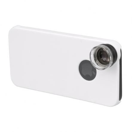 iPhone SE/5s/5用 20倍マイクロスコープレンズキット ホワイト