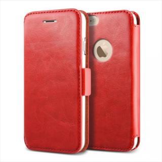 手帳型PUレザーケースVERUS Klop Diary レッド iPhone 6 Plus
