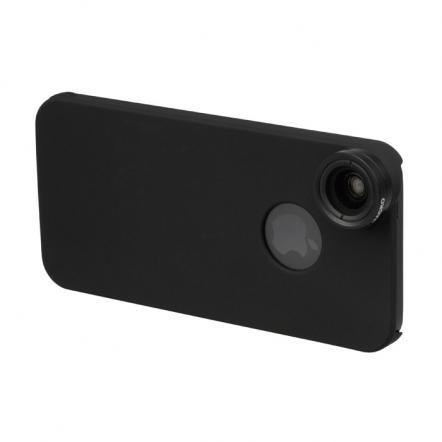 iPhone SE/5s/5用 広角&マクロレンズキット ブラック