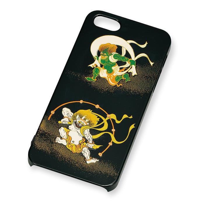 iPhone SE/5s/5 ケース 漆芸 風神雷神 iPhone SE/5s/5 ケース_0