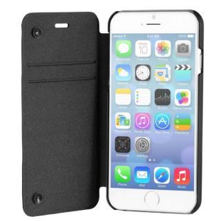 スリム設計手帳型ケース STM ブラック iPhone 6