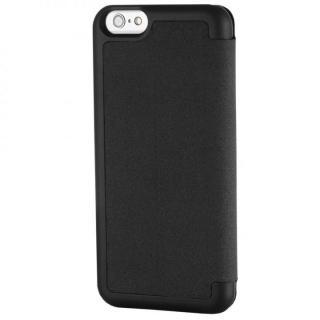 【iPhone6ケース】スリム設計手帳型ケース STM ブラック iPhone 6_1