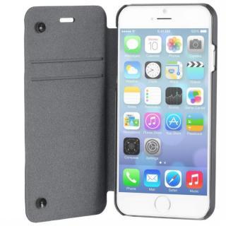 スリム設計手帳型ケース STM チャコール iPhone 6
