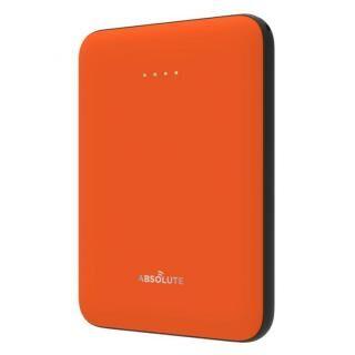 ABSOLUTE ultra mini 5000 モバイルバッテリー オレンジ x ブラック【2月上旬】