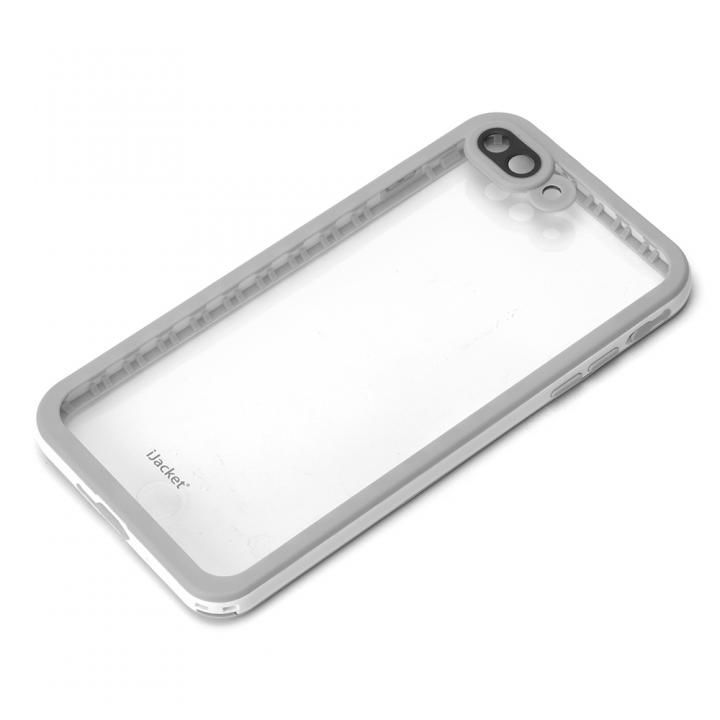 iPhone7 Plus ケース iJacket IP68防水 耐衝撃ケース ホワイト iPhone 7 Plus_0