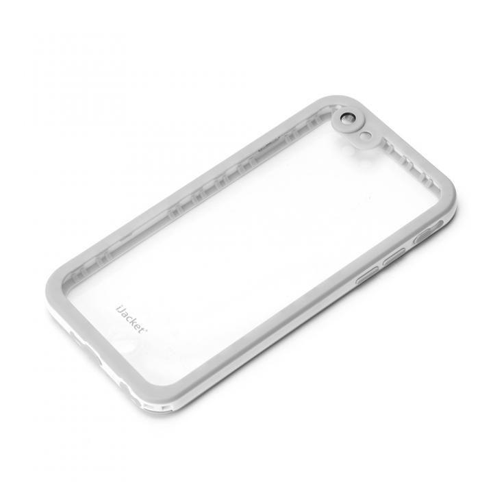 iPhone6s/6 ケース iJacket IP68防水 耐衝撃ケース ホワイト iPhone 6s/6_0