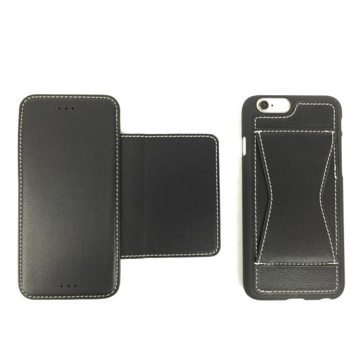 【iPhone6s/6ケース】3タイプケース Fantastick X cover ブラック iPhone 6s/6_0