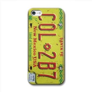 【iPhone SE/5s/5ケース】CollaBorn デザインケース Numberplate[New Mexico] iPhone 5 ケース