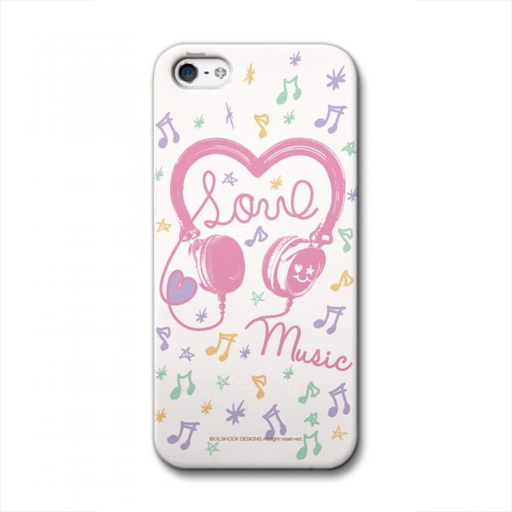 iPhone SE/5s/5 ケース CollaBorn デザインケース Headphone iPhone 5 ケース_0