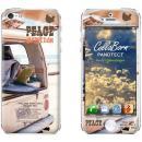 デザイン背面スキンシール PEACE&FREEDOM iPhone 5シール
