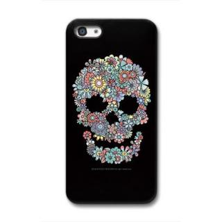 CollaBorn デザインケース Flower Skull iPhone 5 ケース