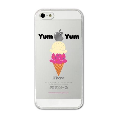 【iPhone SE/5s/5ケース】CollaBorn デザインケース Yum Yum iPhone 5 ケース_0