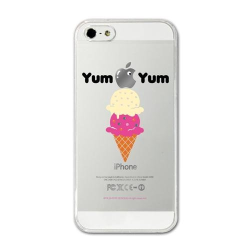 iPhone SE/5s/5 ケース CollaBorn デザインケース Yum Yum iPhone 5 ケース_0