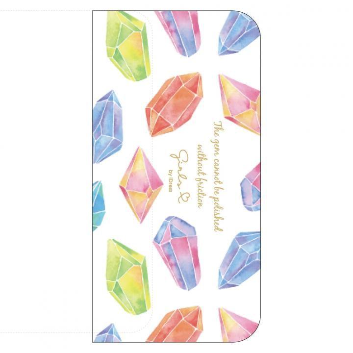 【iPhone8/7/6s/6ケース】Girlsi CAT FLIP 手帳型ケース ジュエリー iPhone 8/7/6s/6_0