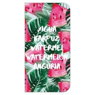 【iPhone8 ケース】Girlsi CAT FLIP 手帳型ケース ウォーターメロン iPhone 8/7/6s/6