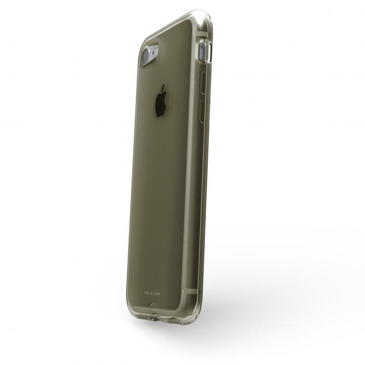 【iPhone8/7ケース】AndMesh Plain Case クリアオリーブ iPhone 8/7_0
