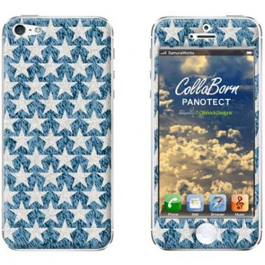 iPhone SE/5s/5 ケース CollaBorn  iPhone5 Rustic Stars