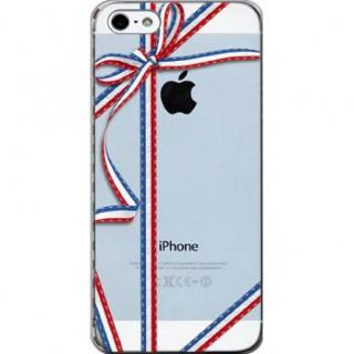 【iPhone SE/5s/5ケース】デコレウェア プレゼントトリコロール iPhone 5ケース