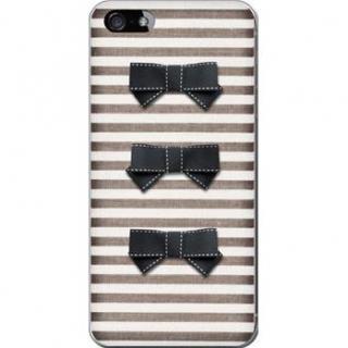 デコレウェア 3連リボンブラック iPhone 5ケース