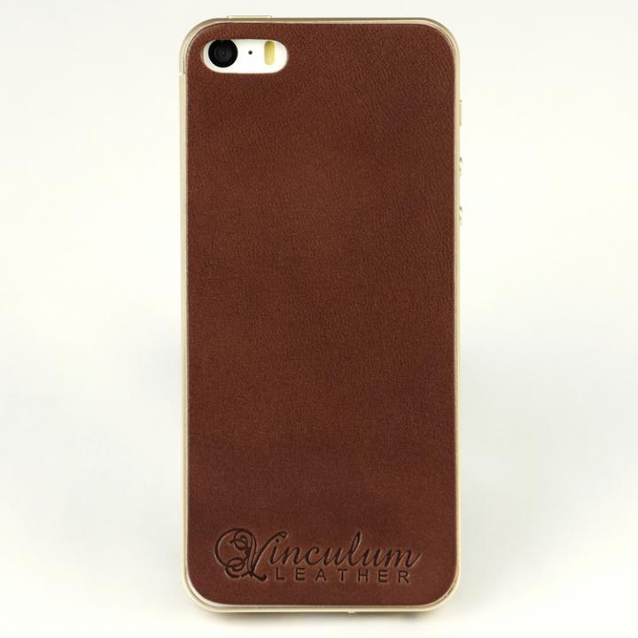 iPhone SE/5s/5 ケース 本革栃木バックパネル IGLNOCENT イノセント ダークブラウン iPhone SE/5s/5_0