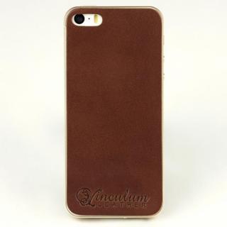 a5016d4dc6fa iPhone SE/5s/5 ケース 本革栃木バックパネル IGLNOCENT イノセント ダークブラウン