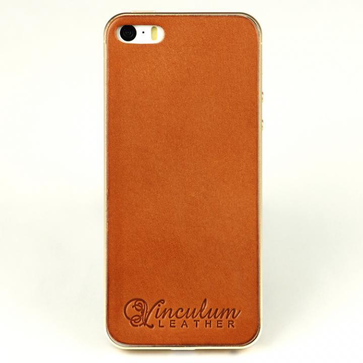 iPhone SE/5s/5 ケース 本革栃木バックパネル IGLNOCENT イノセント ブラウン iPhone SE/5s/5_0