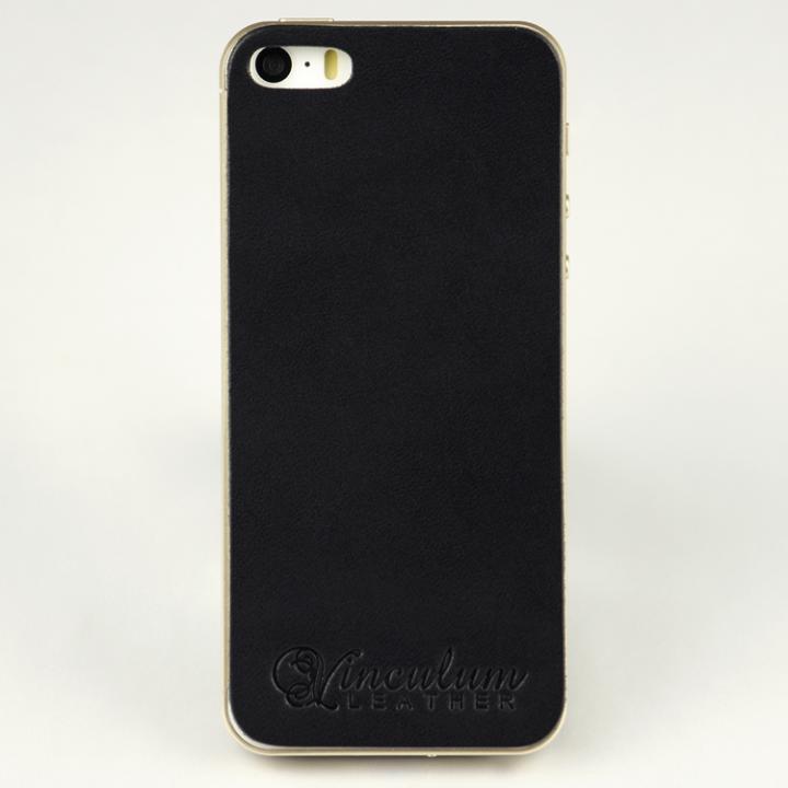 iPhone SE/5s/5 ケース 本革栃木バックパネル IGLNOCENT イノセント ブラック iPhone SE/5s/5_0