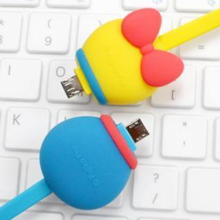 ドラえもんのかわいい充電MicroUSBケーブル 1.8A充電 データ通信対応_3