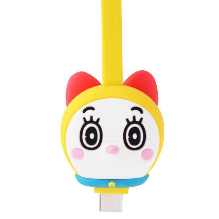 ドラミちゃんのかわいい充電USBケーブル Type C 1.8A充電 データ通信対応_0