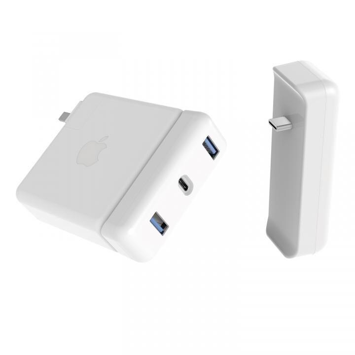 HyperDrive Apple 87W USB-C電源アダプタ用USB-C Hub_0