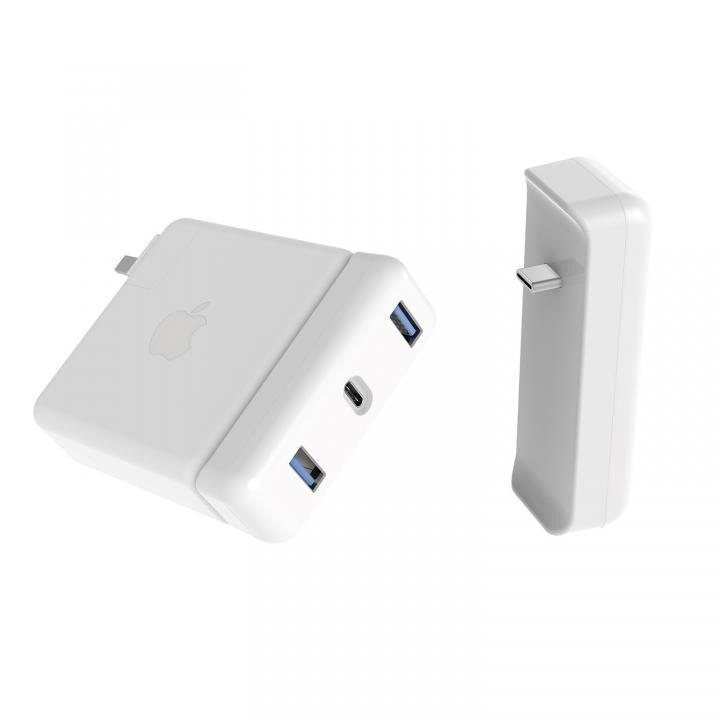 HyperDrive Apple 61W USB-C電源アダプタ用USB-C Hub_0