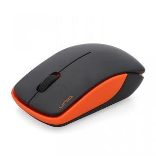 ワイヤレス・サイレントマウス 2.4GHz BIM367G エントリーモデル オレンジ