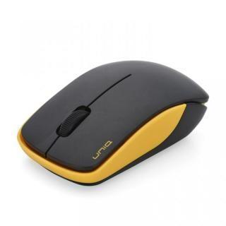 ワイヤレス・サイレントマウス 2.4GHz BIM367G エントリーモデル イエロー