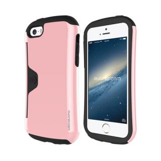 iPhone SE/5s/5 ケース カード収納機能付ケース Phonefoam Golf Original ピンク iPhone SE/5s/5