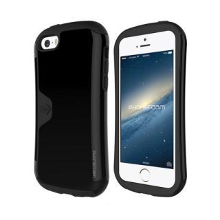 iPhone SE/5s/5 ケース カード収納機能付ケース Phonefoam Golf Original ブラック iPhone SE/5s/5