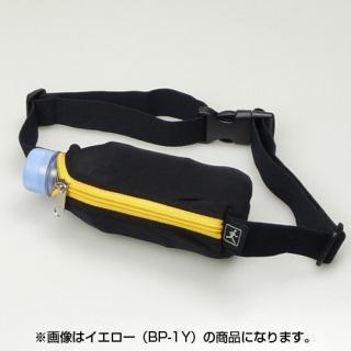 伸縮フリーサイズポーチ ブラック/オレンジ_1