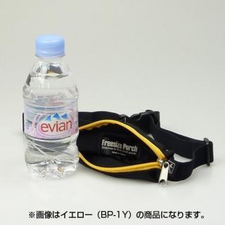 伸縮フリーサイズポーチ ブラック/オレンジ_2
