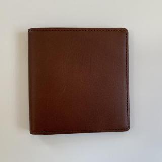 カードがたくさん入るのに薄い手の平財布 BS02 チョコ【4月下旬】