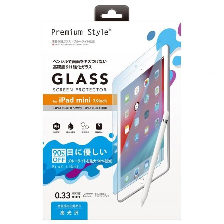 液晶保護ガラス ブルーライト iPad mini(2019)/iPad mini 4【6月上旬】_0